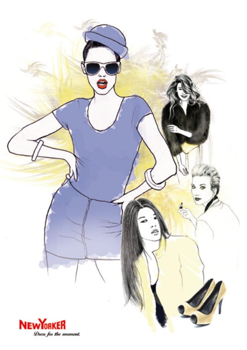 Ilustación de moda 4