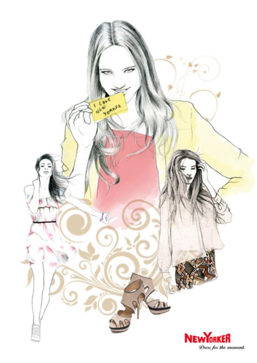 Ilustación de moda 3