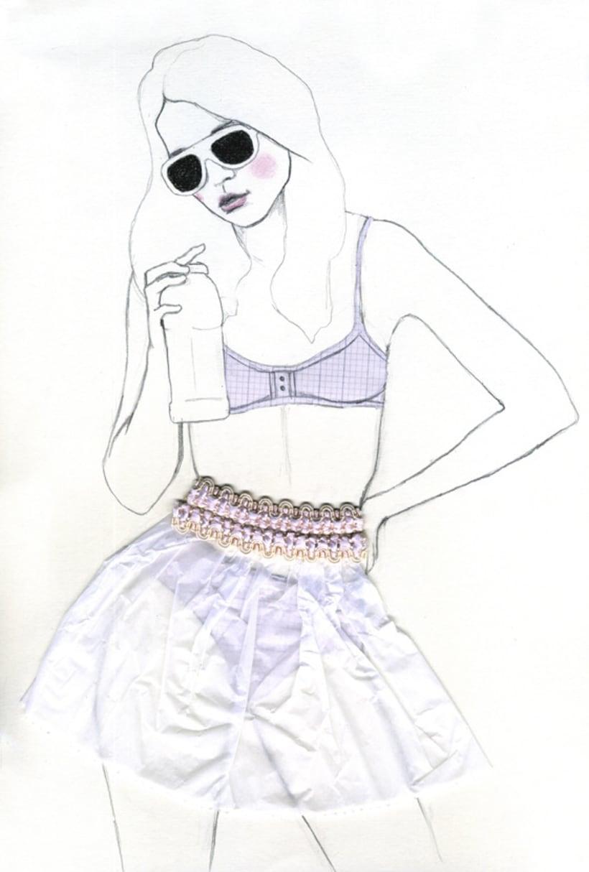 Ilustación de moda 1