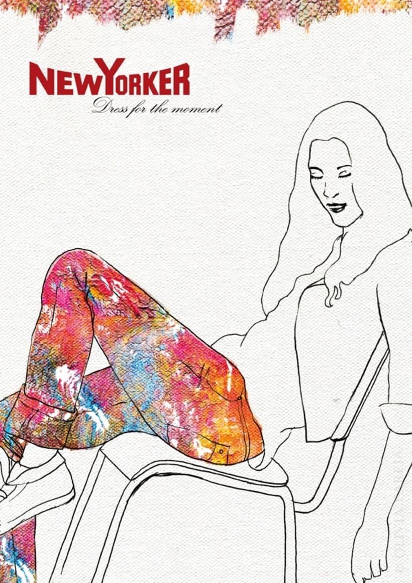 Ilustración de moda: New Yorker 5
