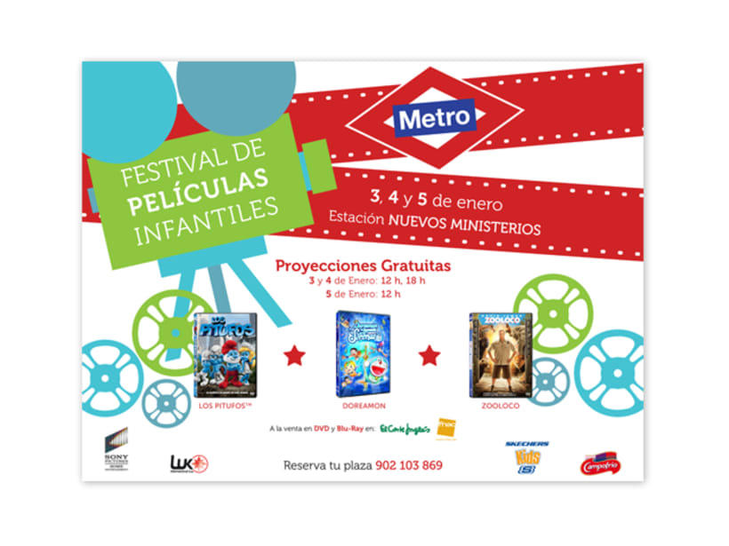 Metro Festival Cine Infantil 3
