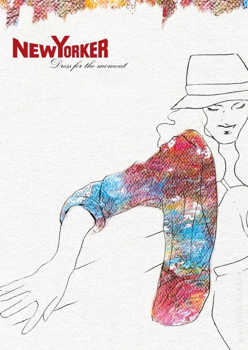 Ilustración de moda: New Yorker 4
