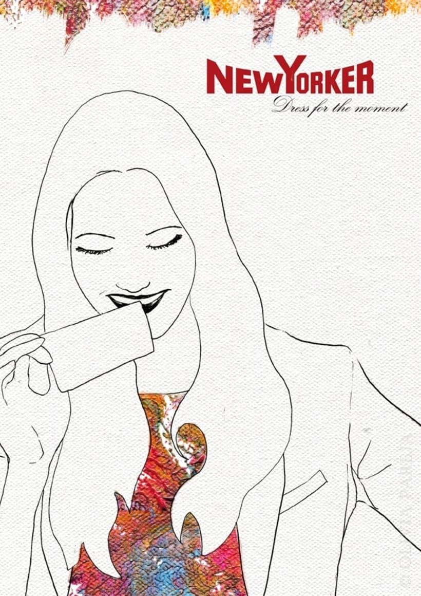 Ilustración de moda: New Yorker 3