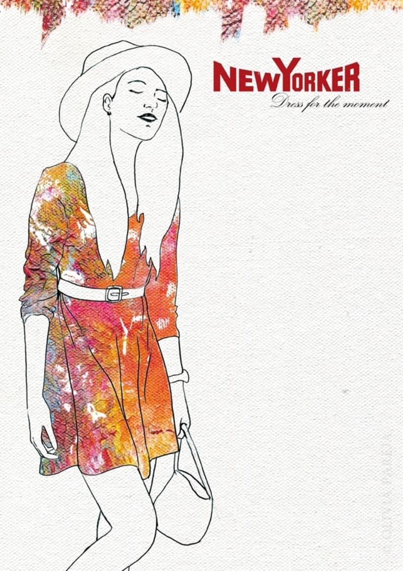 Ilustración de moda: New Yorker 2