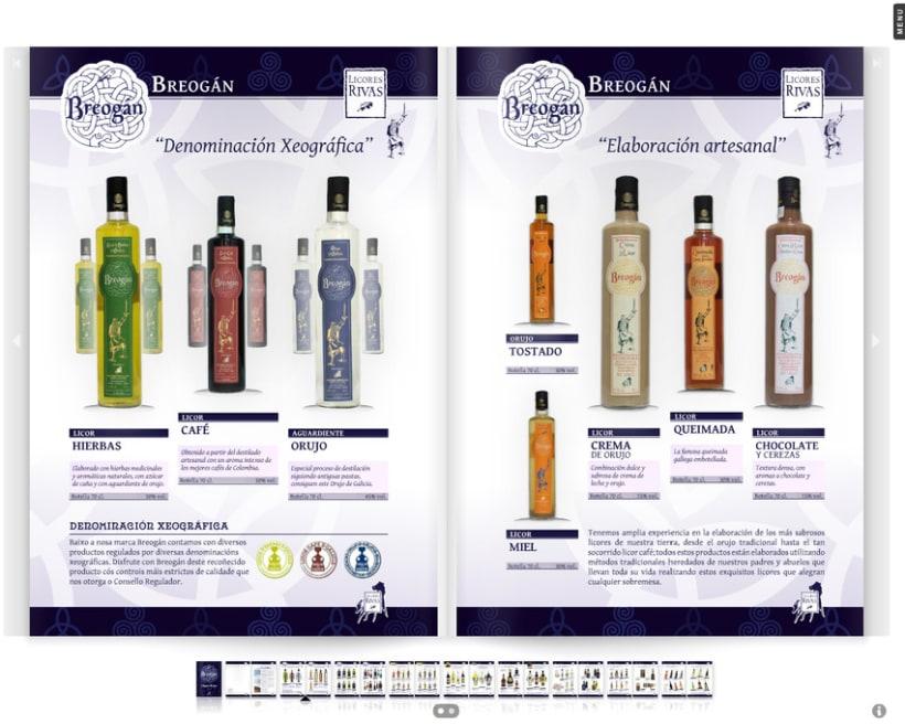 Licores Rivas catálogo bebidas 2012 2