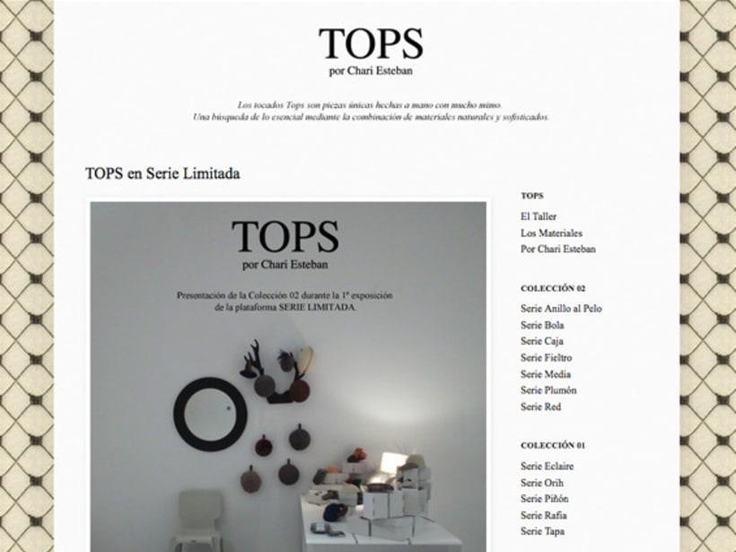 TOPS por Chari Esteban 4