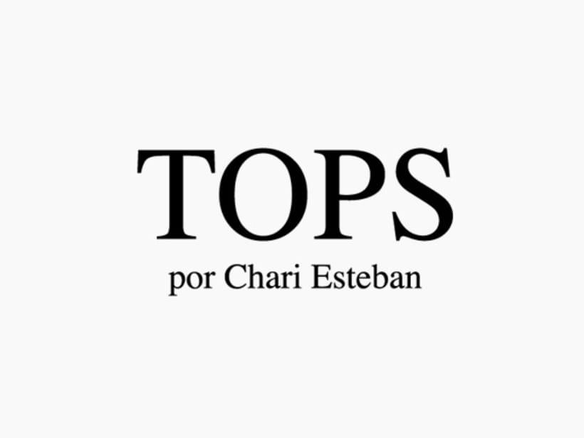 TOPS por Chari Esteban 1
