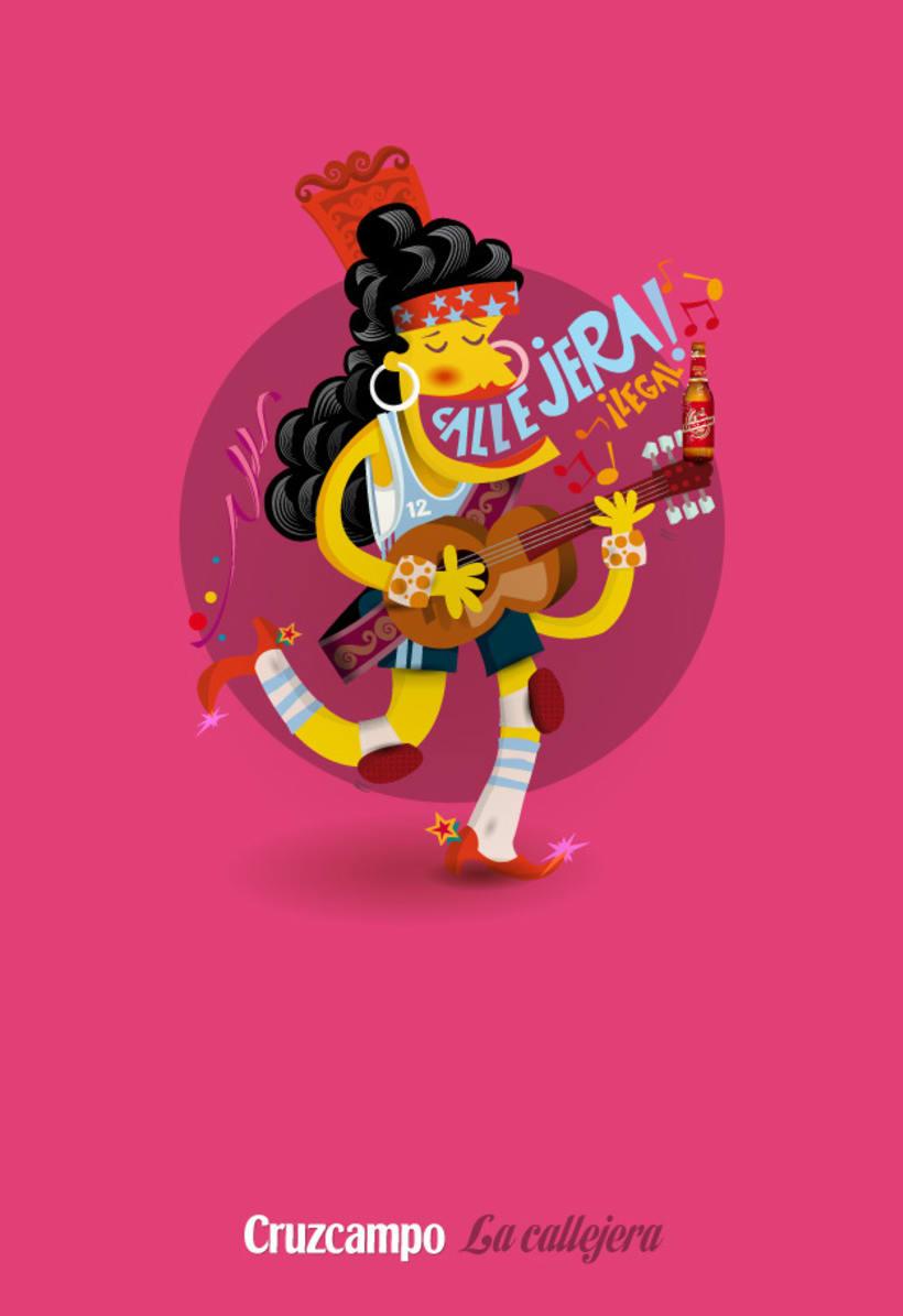 Personajes Cruzcampo Carnaval  13