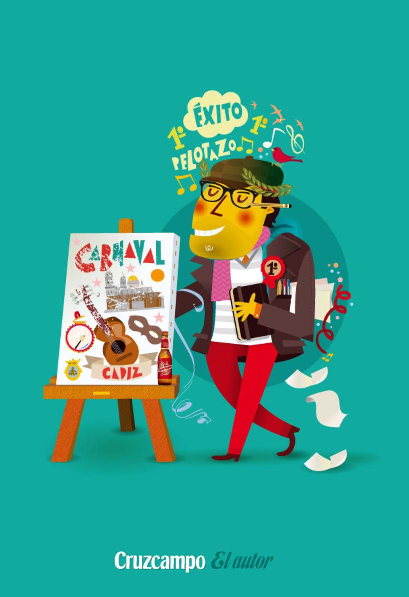 Personajes Cruzcampo Carnaval  10