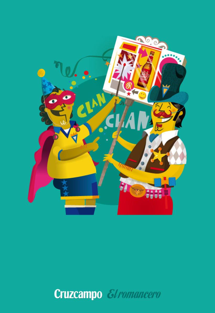 Personajes Cruzcampo Carnaval  5