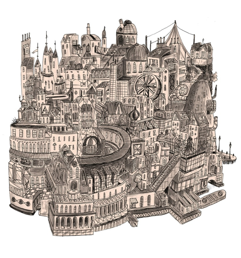 Ciudad imaginaria II 1
