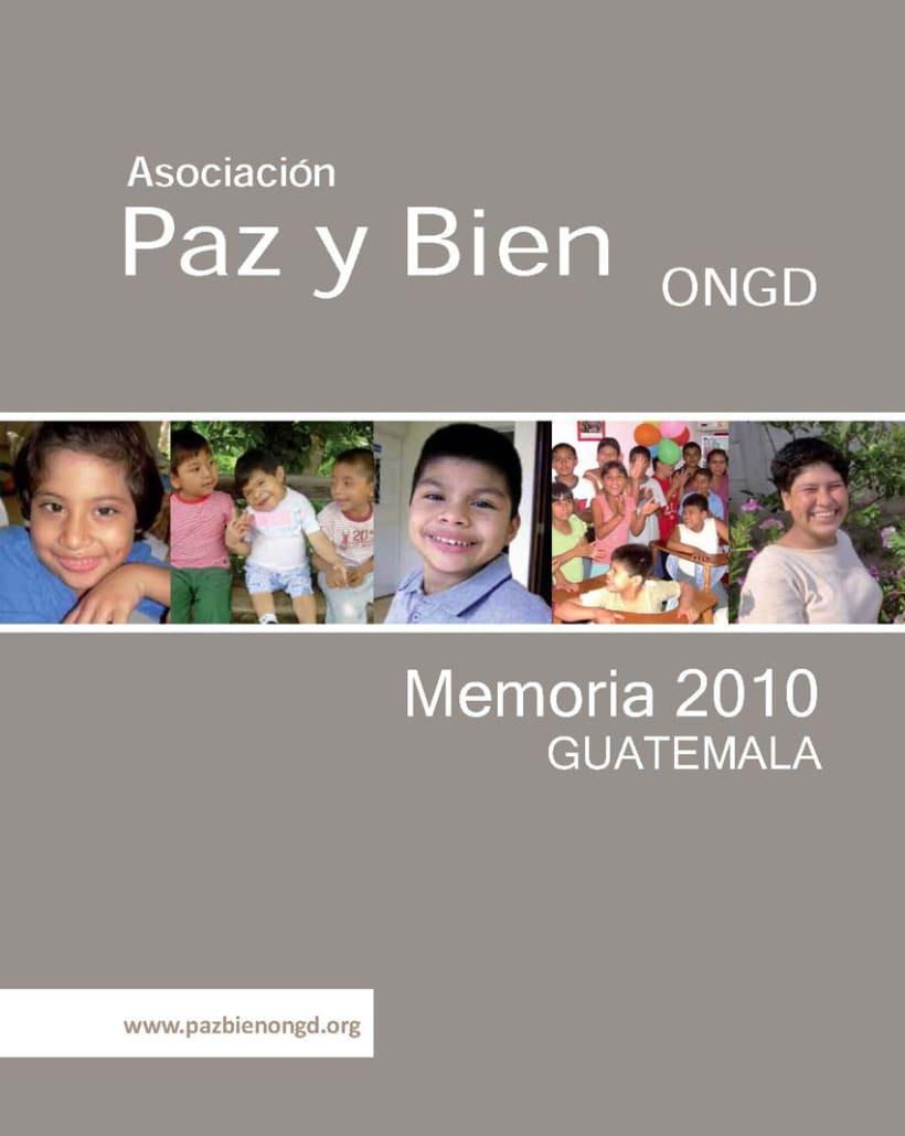 Memoria de actividades institucional 2