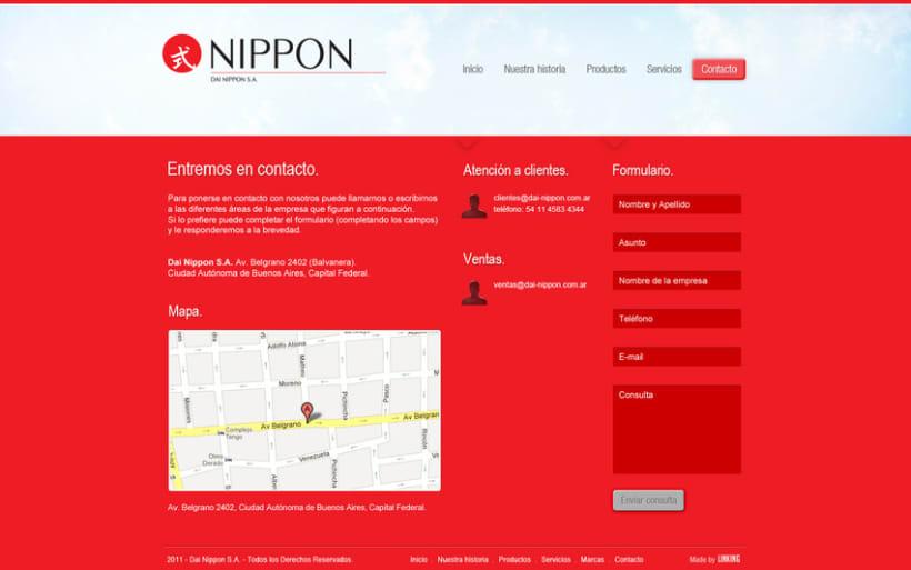 Nippon website 3