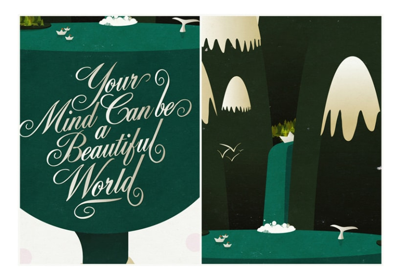 Your mind can be a beautiful world 5