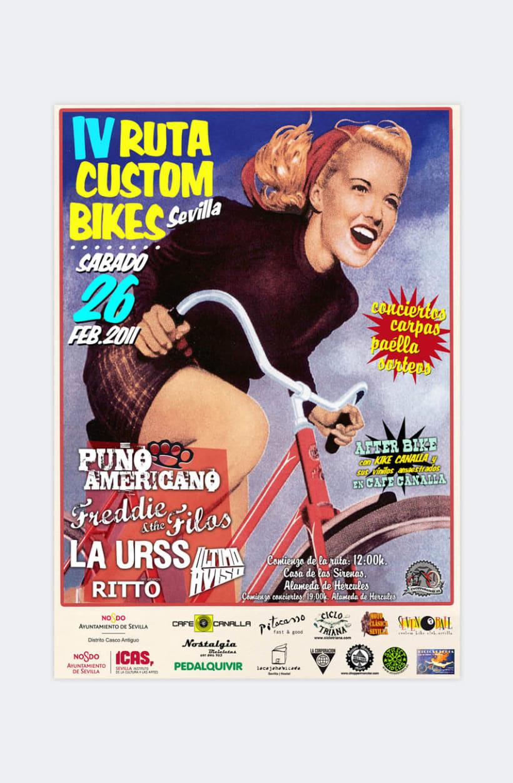 ruta custom bikes sevilla 2