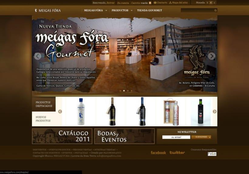 Meigas Fóra web tienda on-line 2011 2