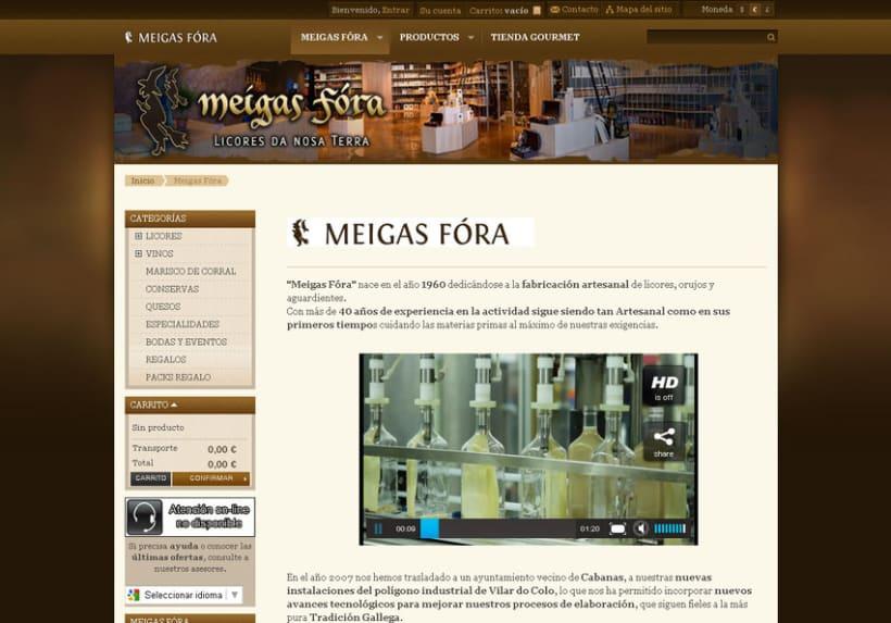 Meigas Fóra web tienda on-line 2011 3
