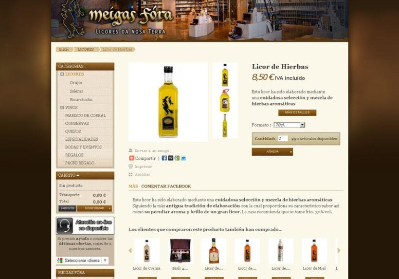 Meigas Fóra web tienda on-line 2011 5
