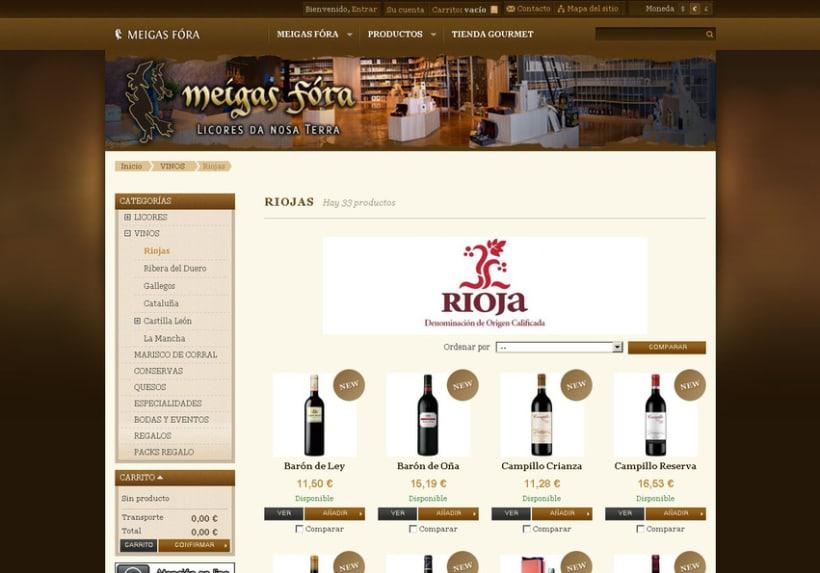 Meigas Fóra web tienda on-line 2011 6