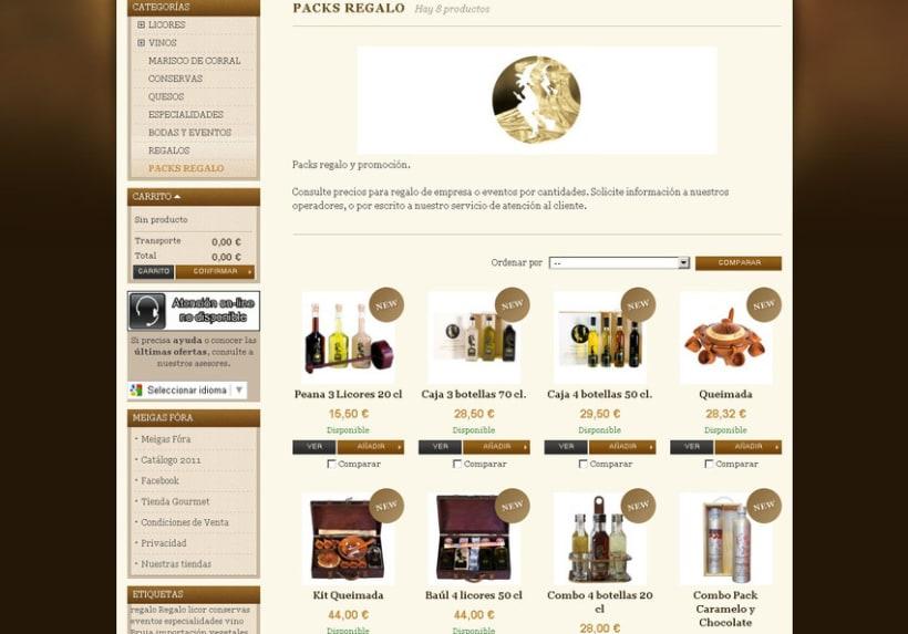 Meigas Fóra web tienda on-line 2011 7