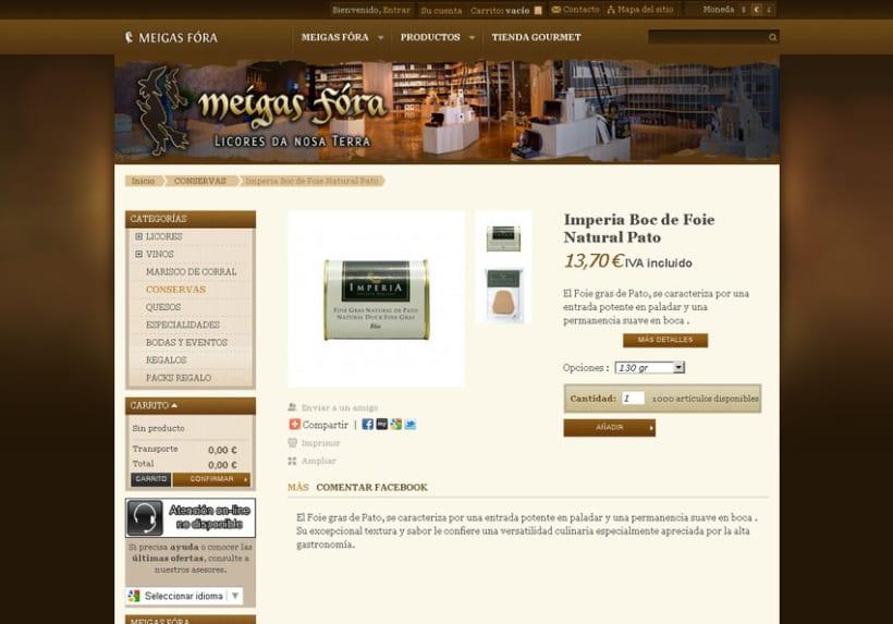 Meigas Fóra web tienda on-line 2011 8