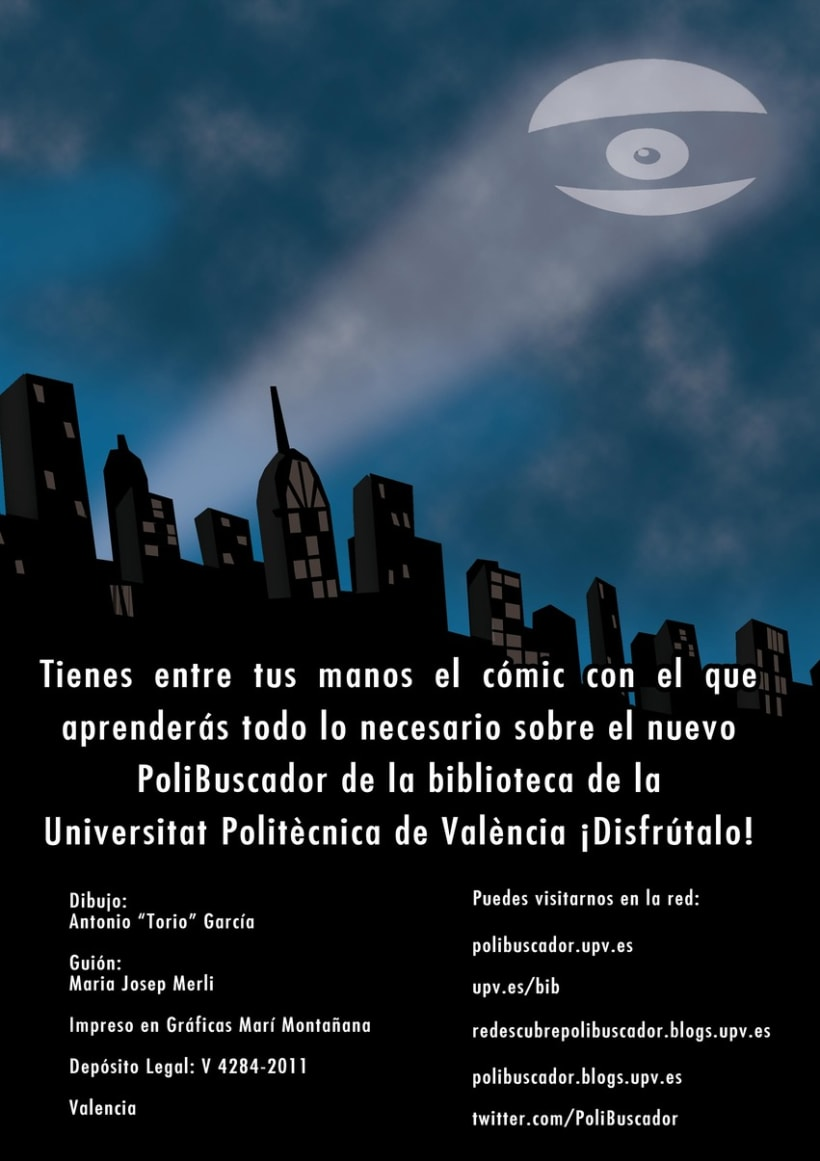 Cómic PoliBuscador 11