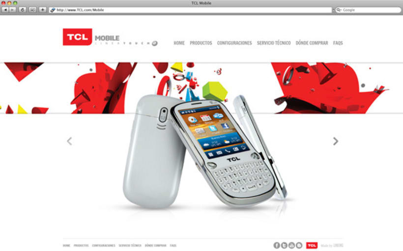 TCL mobile website 3