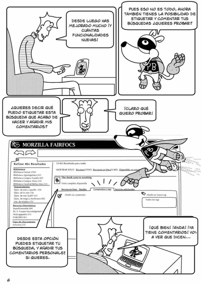 Cómic PoliBuscador 8
