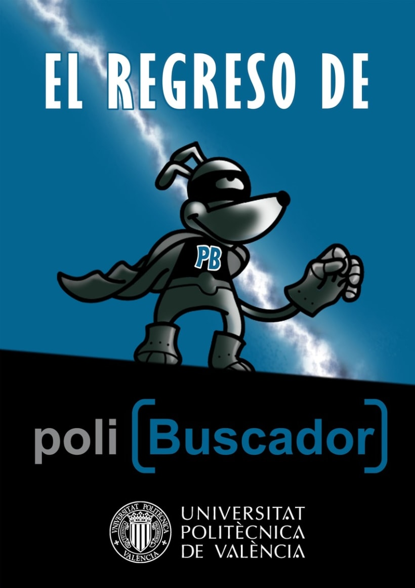 Cómic PoliBuscador 2