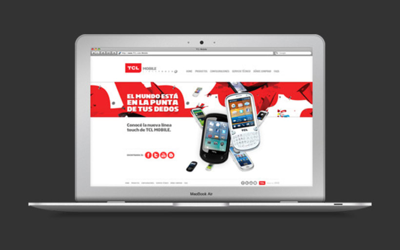 TCL mobile website 1