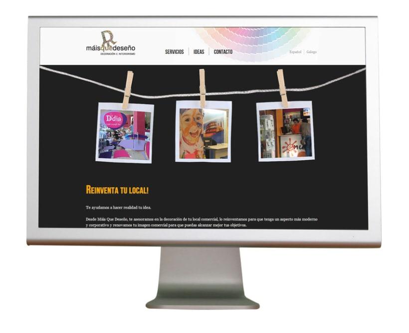 Diseño WEB: Decoración e Interiorismo 2
