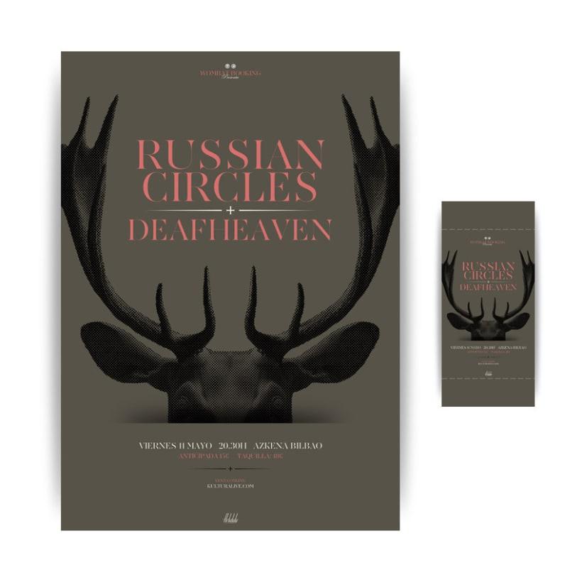 Russian Circles + Deafheaven 1