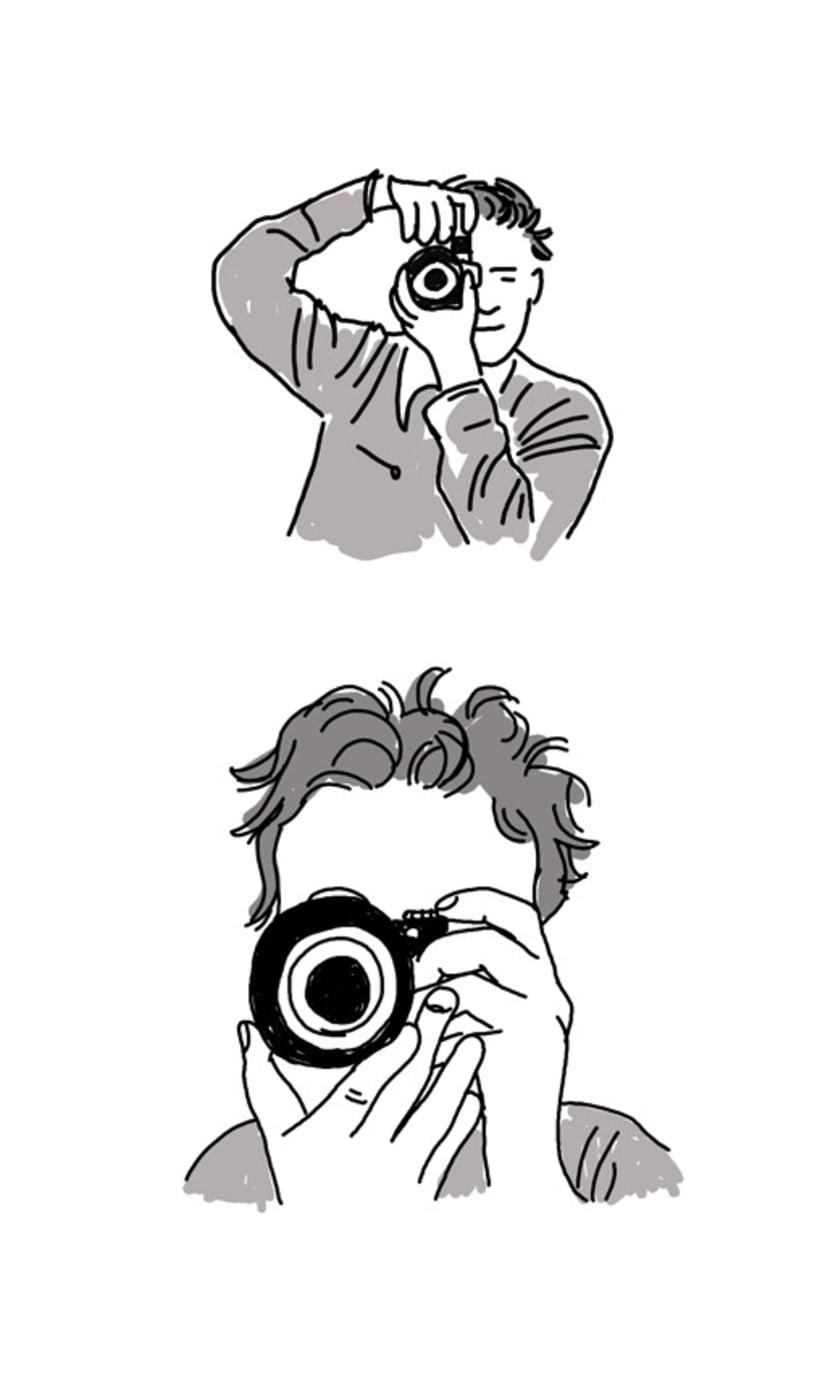 Ilustración para fotógrafo de boda 1
