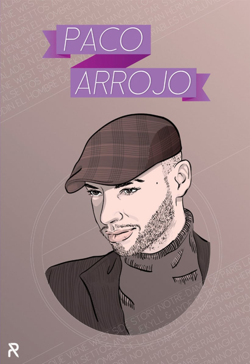 Cartel Paco Arrojo 1
