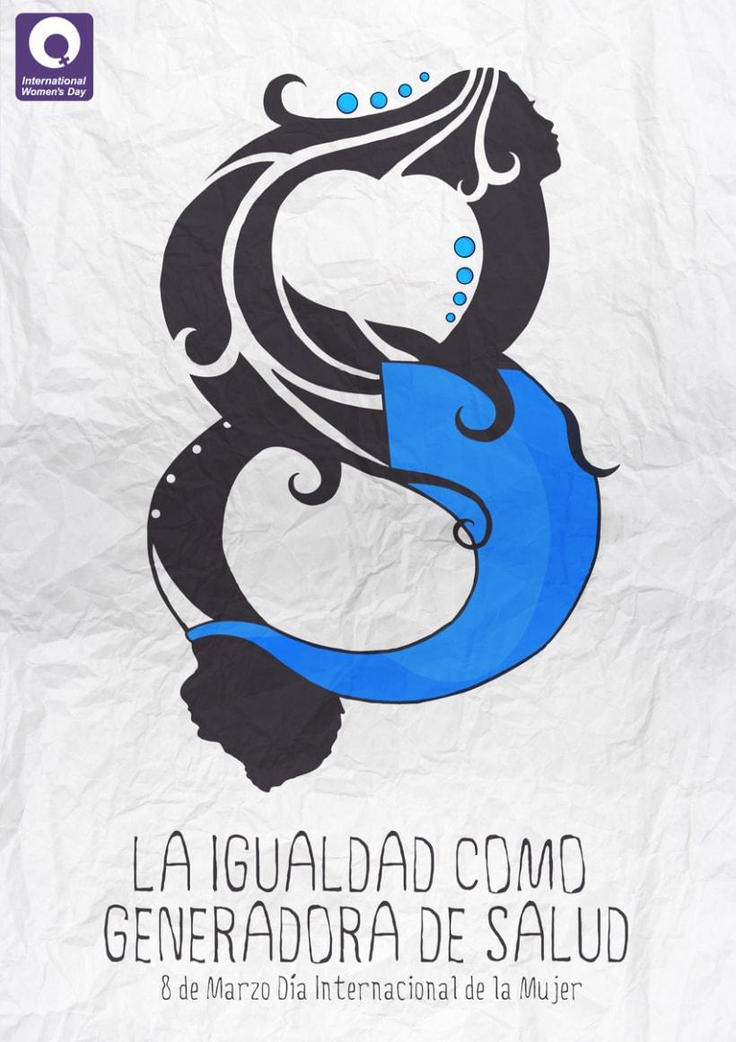 Cartel: día de la mujer 1