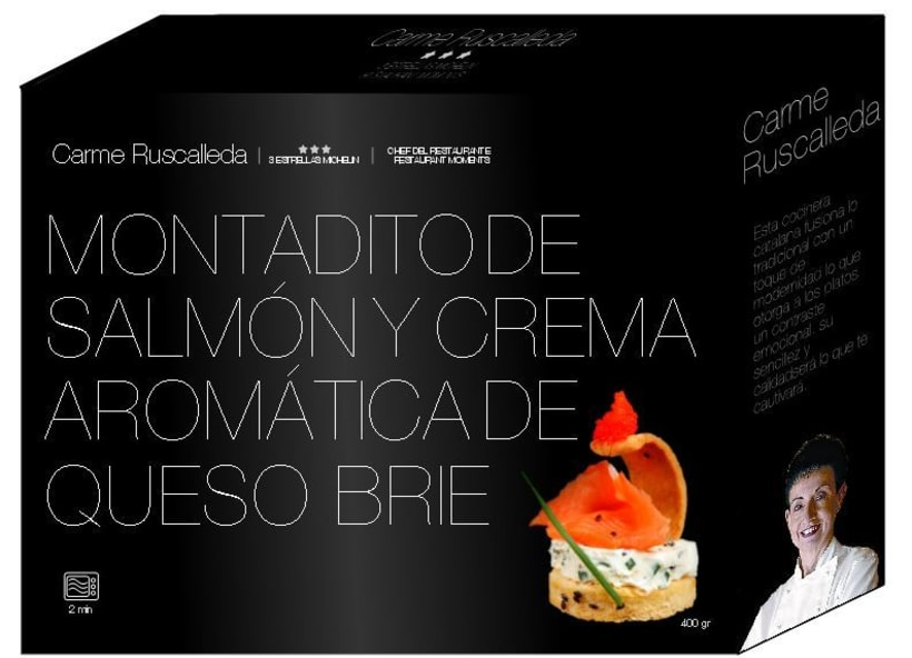 Packaging gourmet 4
