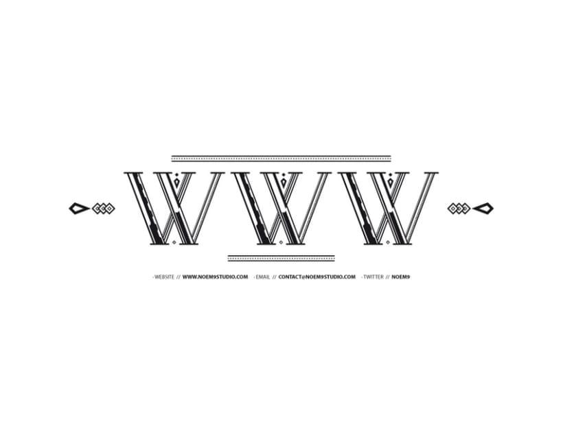 AVANTH typeface 13