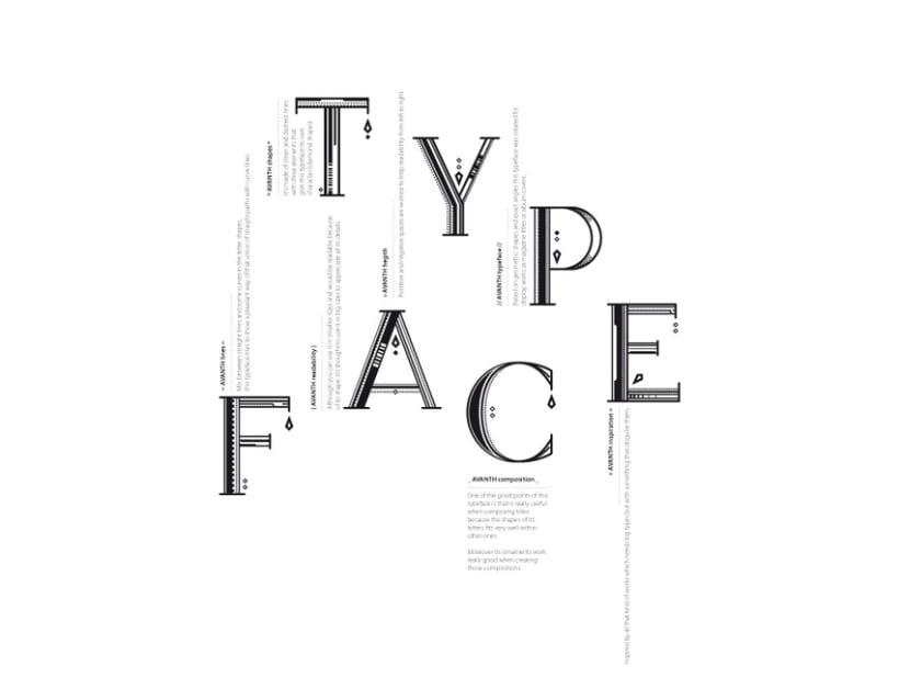 AVANTH typeface 10
