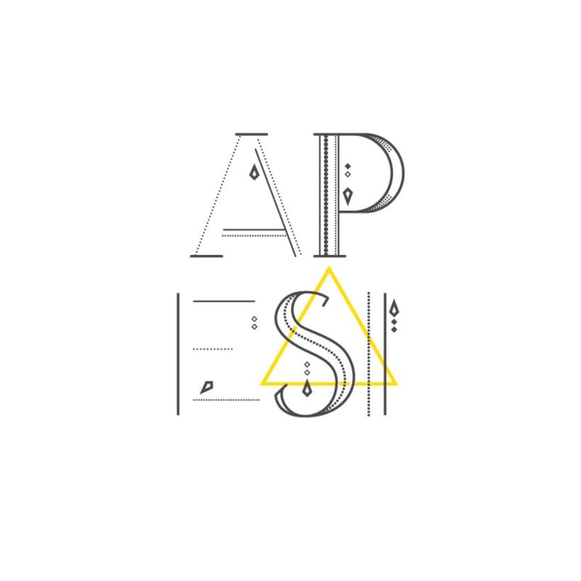 AVANTH typeface 6