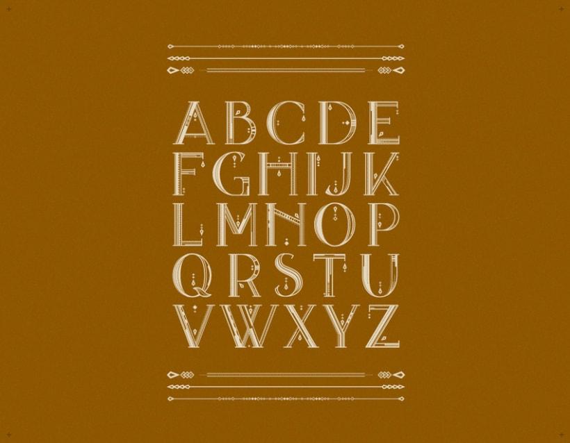 AVANTH typeface 4