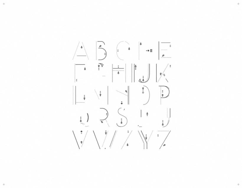 AVANTH typeface 2