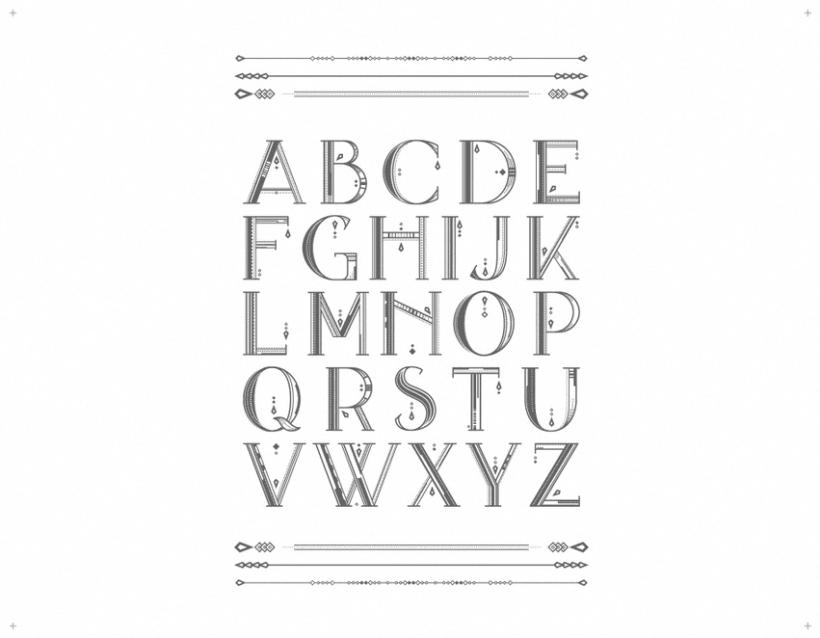 AVANTH typeface 1