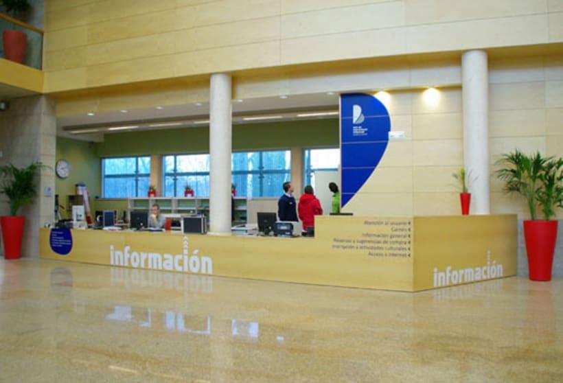 Señalización Biblioteca 1