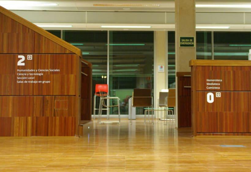 Señalización Biblioteca 4