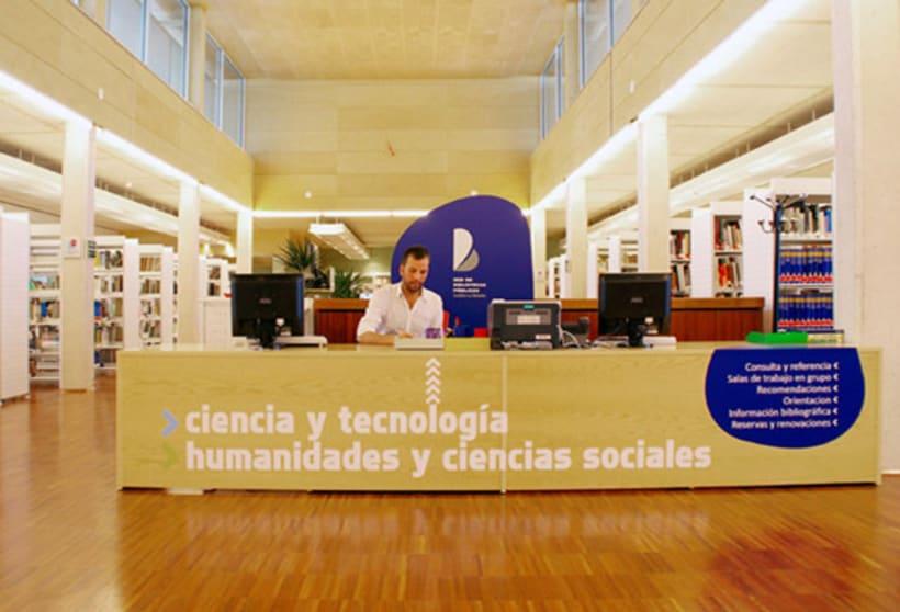 Señalización Biblioteca 3