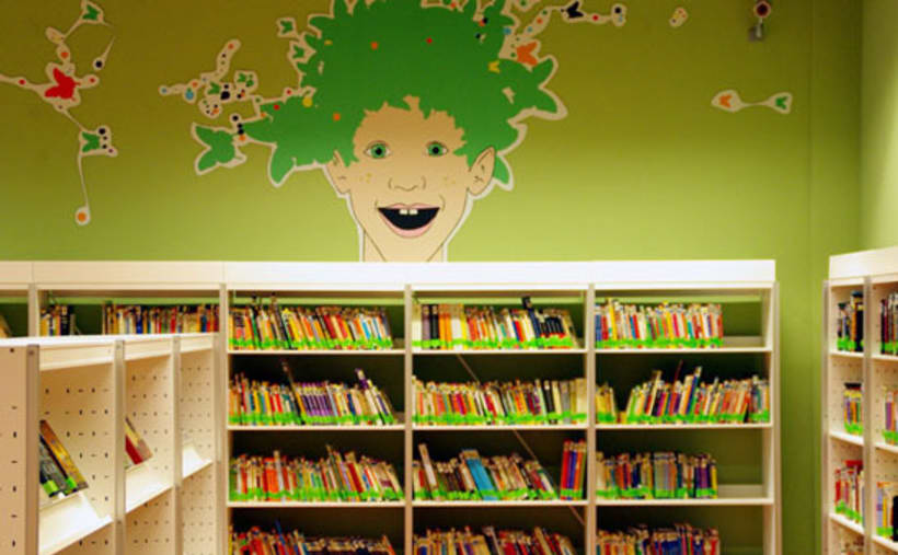 Señalización Biblioteca 13