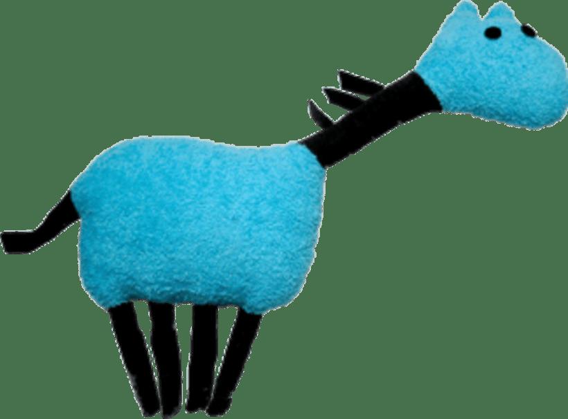 Cavall Blau 2