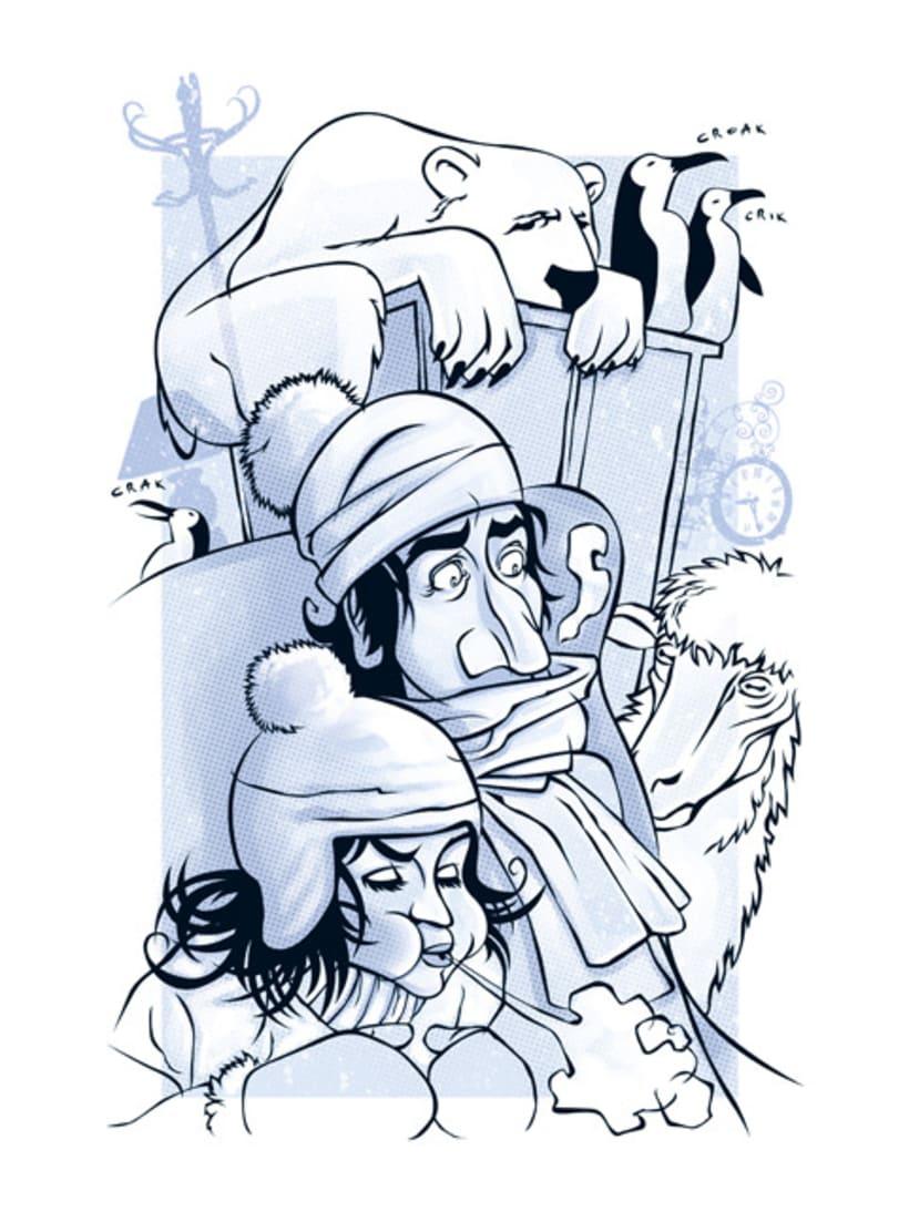 Ilustraciones revista PAISAJES (RENFE) 2