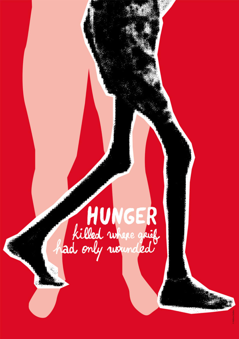Hunger killed where grief had only wounded 2
