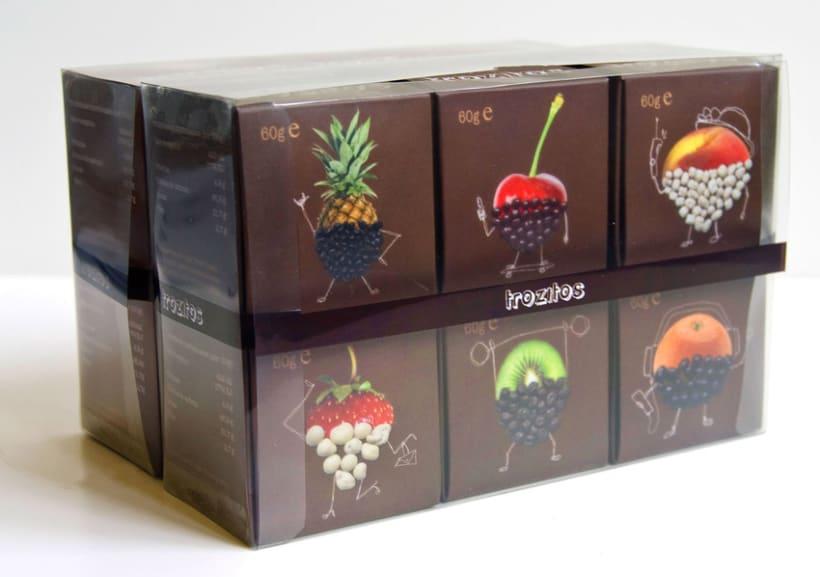 Trozitos (frutas secas con chocolate) 5